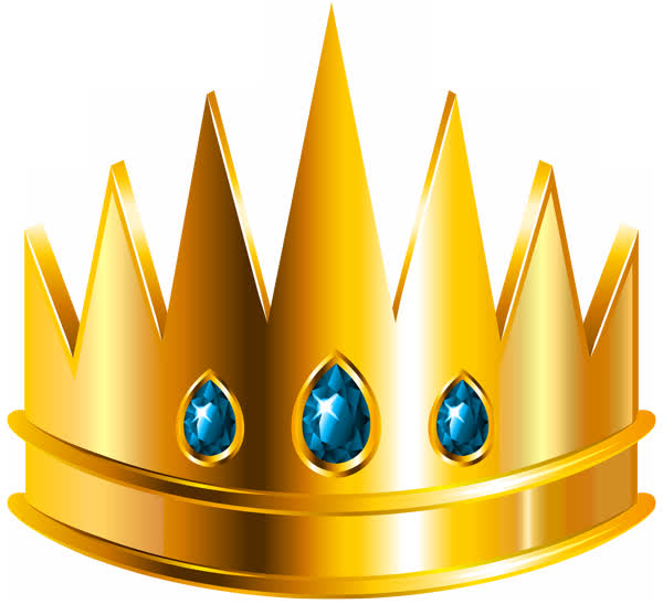 Короны. Клипарт PNG на прозрачном фоне