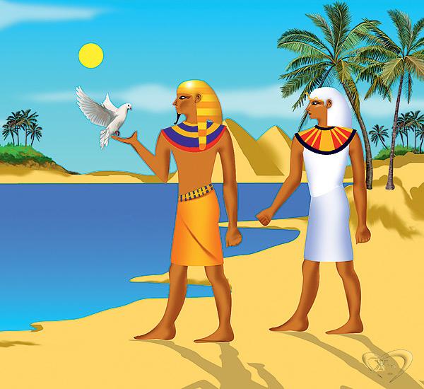 Почтовых голубей использовали ещё в Древнем Египте