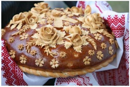 Открытки. День хлеба. Русский хлеб