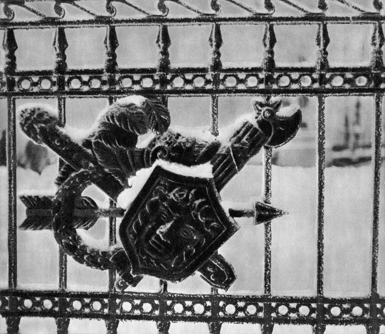Фрагмент перильной решетки Второго Садового моста / Fragment of the railings of Second Garden Bridge