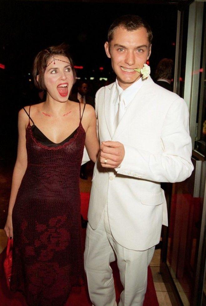Джуда Лоу и Сэди Фрост Но счастье влюбленных продлилось недолго: Лоу влюбился в актрису Сиенну Милле