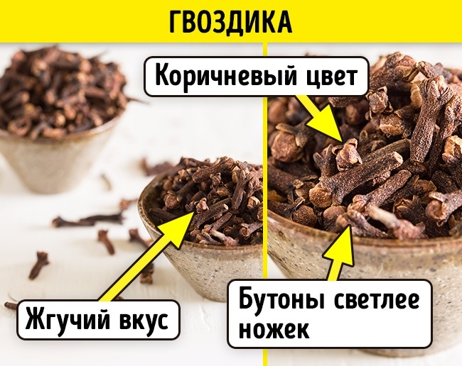 © depositphotos.com  Бутончики качественной гвоздики коричневые, головки светлее ножек. При по