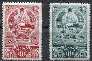 1941 Первая годовщина Карело-Финской ССР