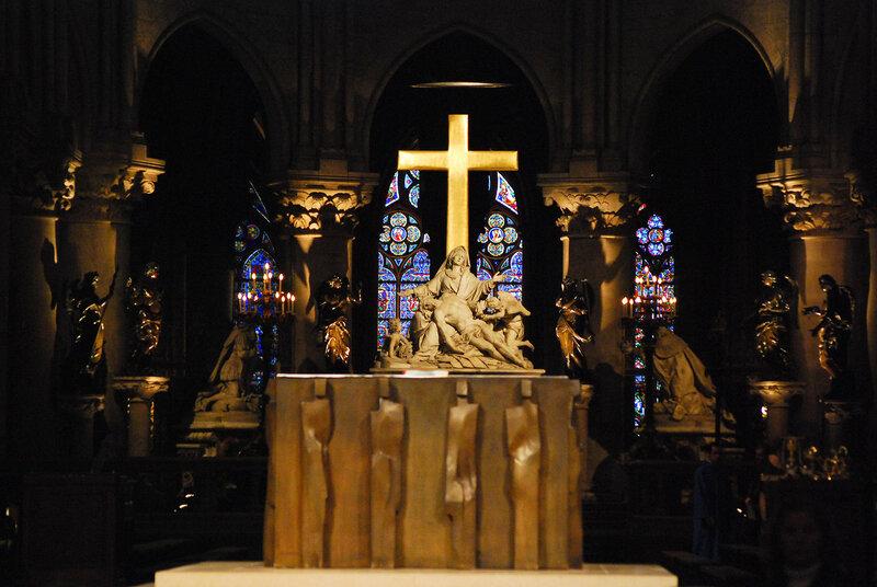 Cath'edrale Notre-Dame de Paris