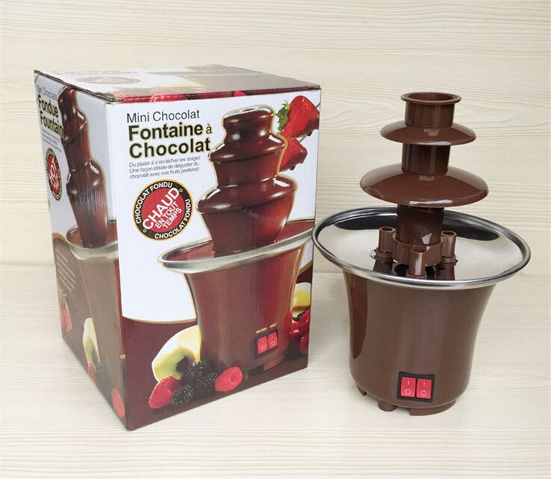 Шоколадный фонтан для фондю