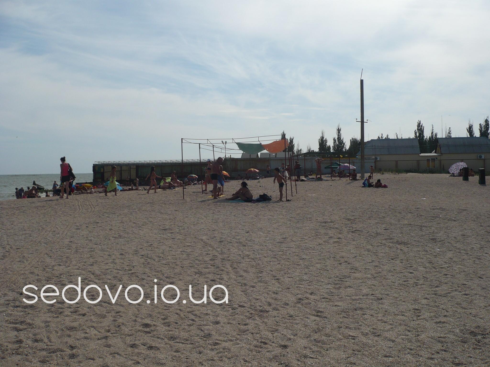 Пляжи в поселке Седово Азовское море фото