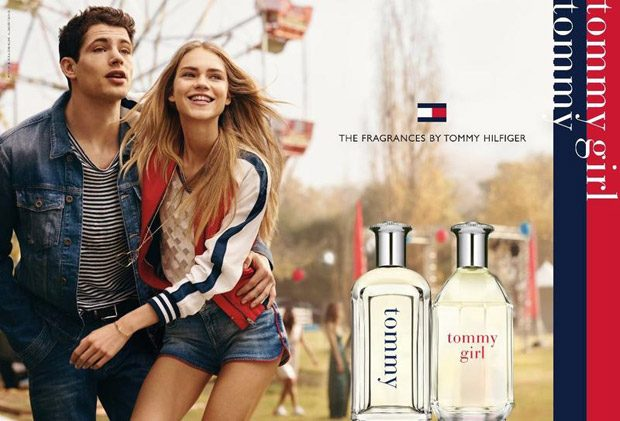 Line Brems & Jamie Wise are the Faces of Tommy Hilfiger Fragrances (6 pics)