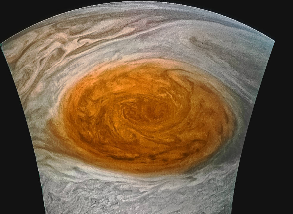 Incredible Pictures of Jupiter Red Spot