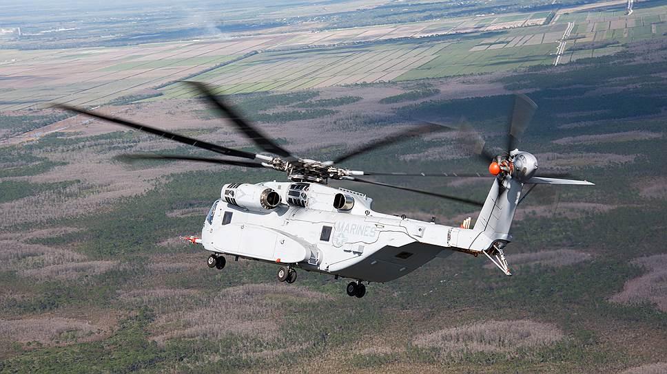 Тяжелый военно-транспортный вертолет Sikorsky CH-53K King Stallion для ВВС США