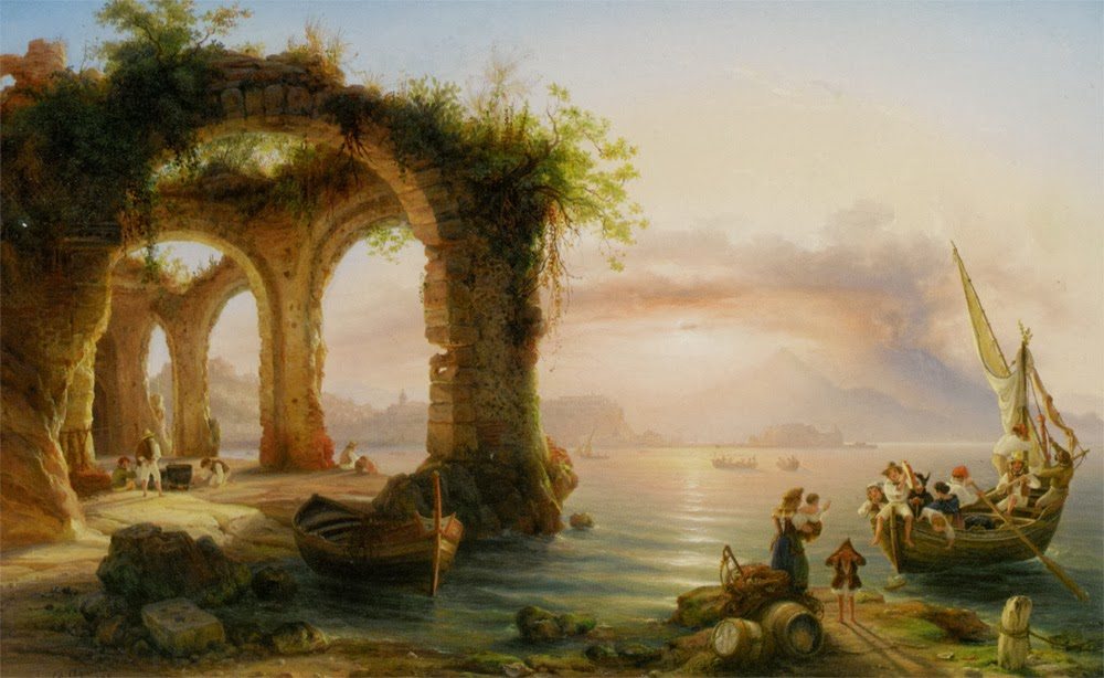 2 Agricola_Edouard_The_Bay_of_Naples_from_Posillipo_Oil_on_Canvas-large private.jpg