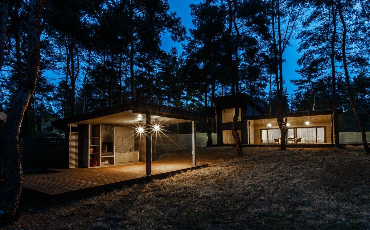 Уютный дом из клееного бруса
