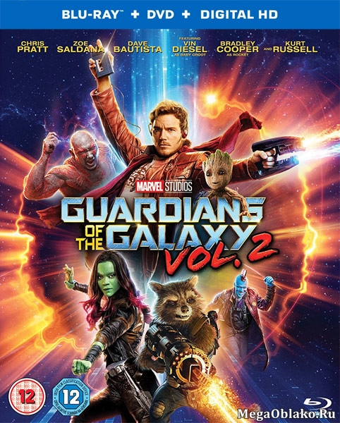 Стражи Галактики. Часть 2 / Guardians of the Galaxy Vol. 2 (2017/BDRip/HDRip) + 3D + UHD 4K 2160p