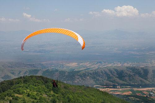 Параплан ASA Тайран 6 на старте в Крушево, Македония.