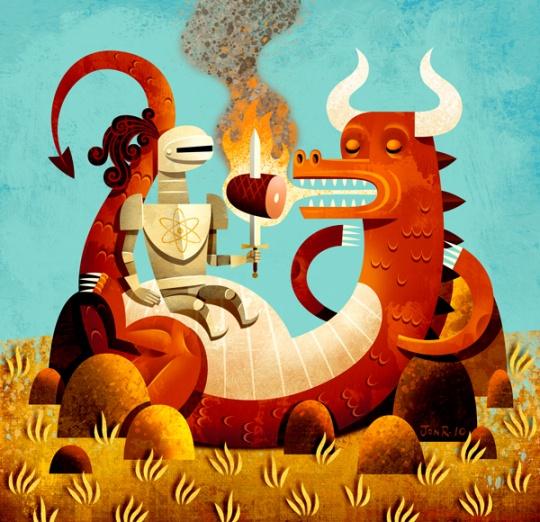 [Really] Creative Illustrations by Jon Reinfurt (24 pics)