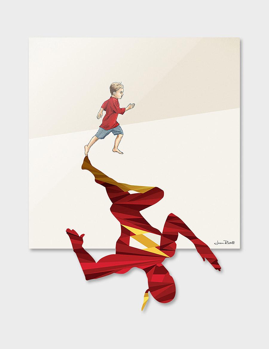 Super Shadows: Illustrations by Jason Ratliff