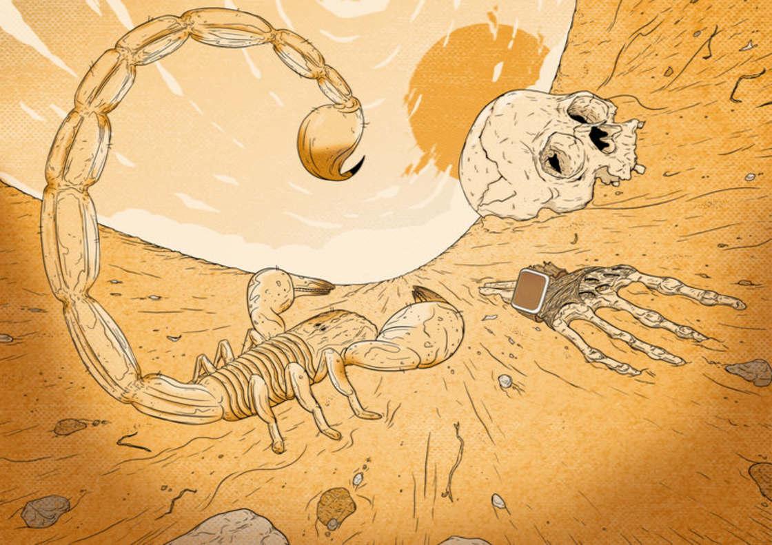 Les illustrations explosives et torturees de Mike Hughes