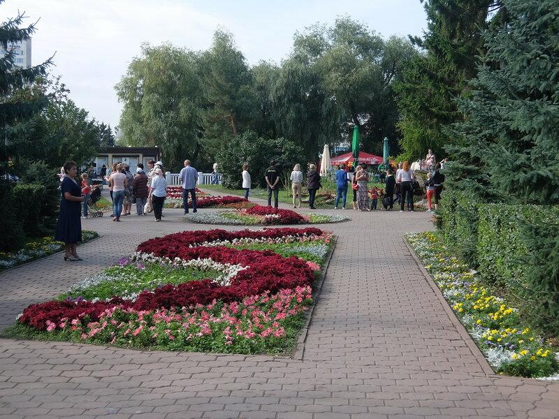 Омск - Воскресенский сквер
