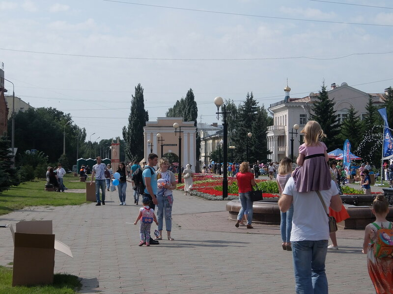 Омск - День города у Омских ворот