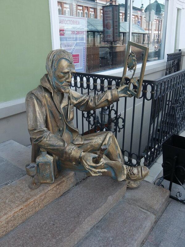 Скульптура Ван Гог