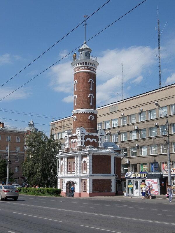 Омск - Пожарная каланча