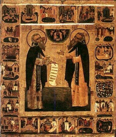 Преподобный Зосима Соловецкий, игумен