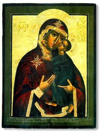 Икона Богородицы Толгская