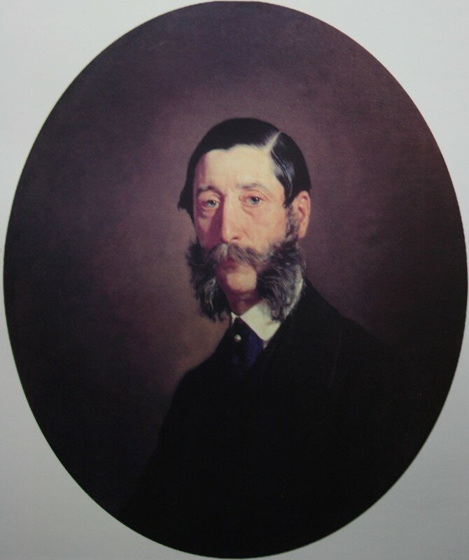 Портрет князя Н.М. Голицына 1868 Музей Новый Иерусалим.