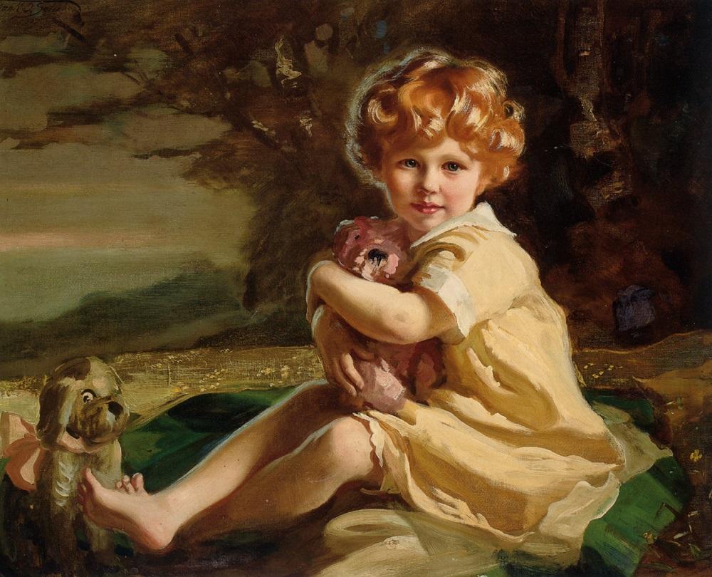 Портрет Сары Фентон Кинг как маленькая девочка , 1929.jpg