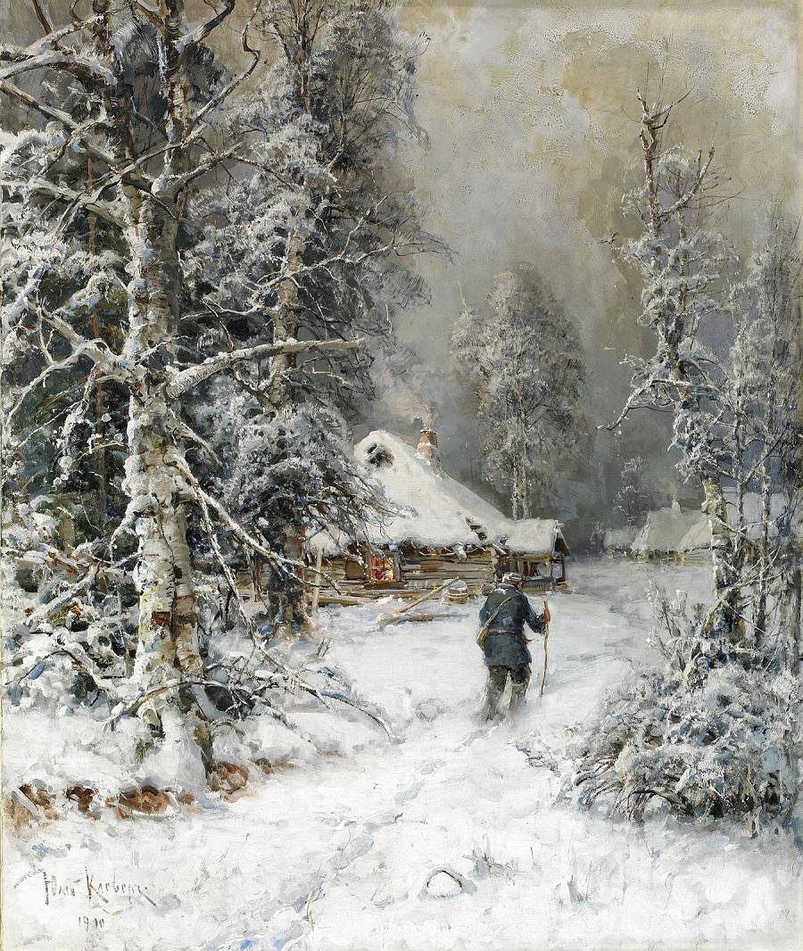 1900 Зимний пейзаж Частное собрание.jpg