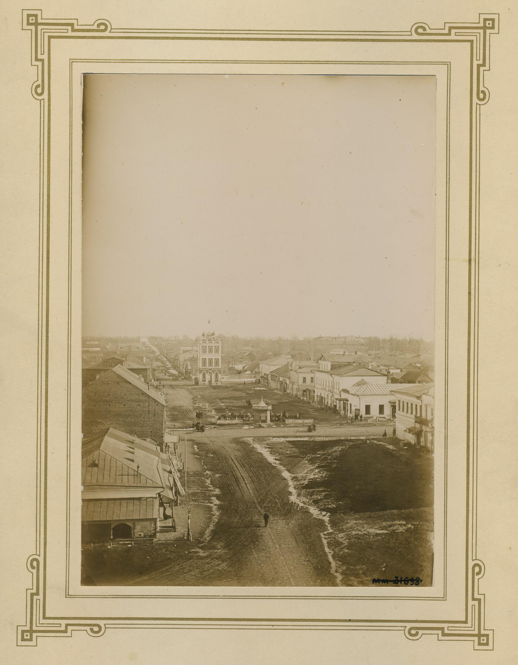 Вид на водонапорную башню, построенную в 1864. 1900 – 1910