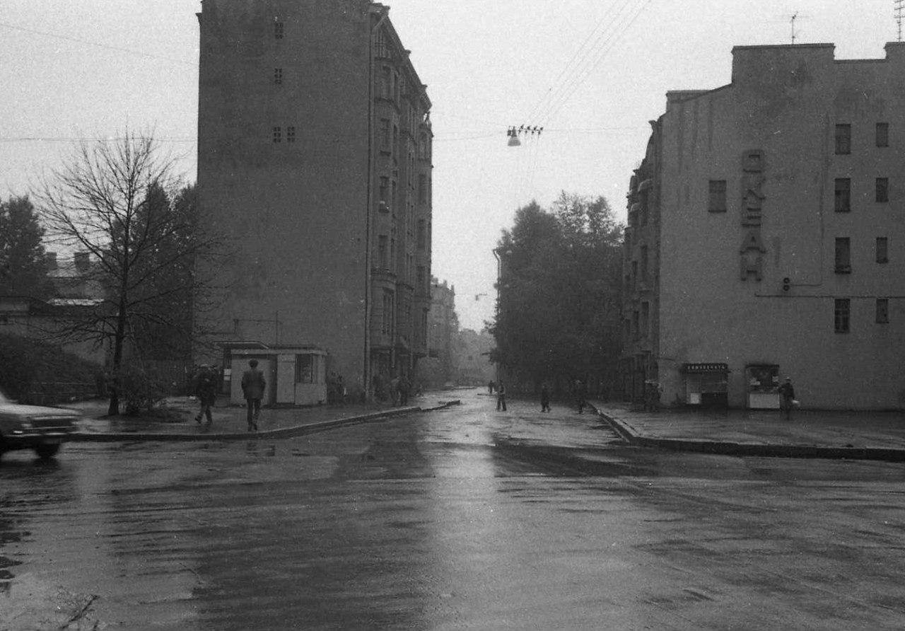 28. Проспект Щорса. 1980-е