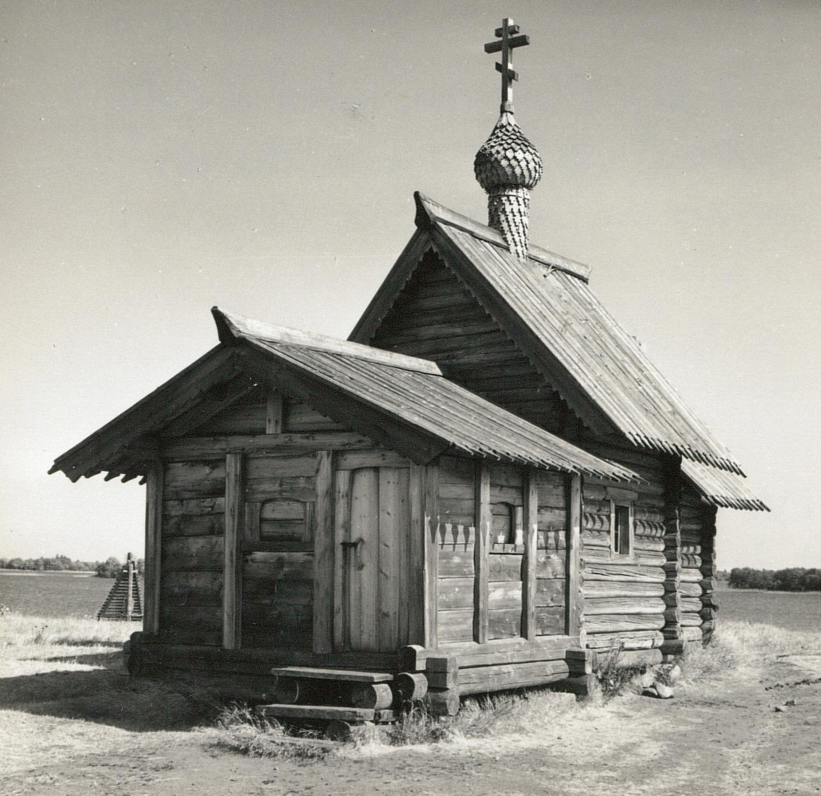 Кижи. Церковь «Воскрешение Лазаря»
