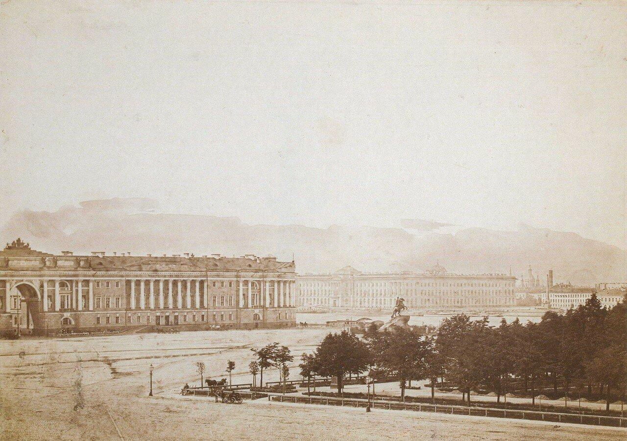 1850-е. Сенатская площадь