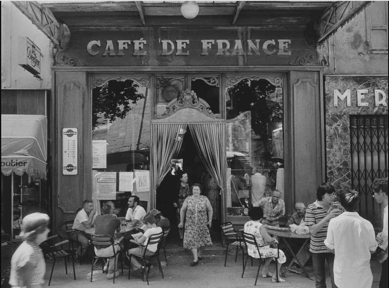 1979. Кафе де Франс