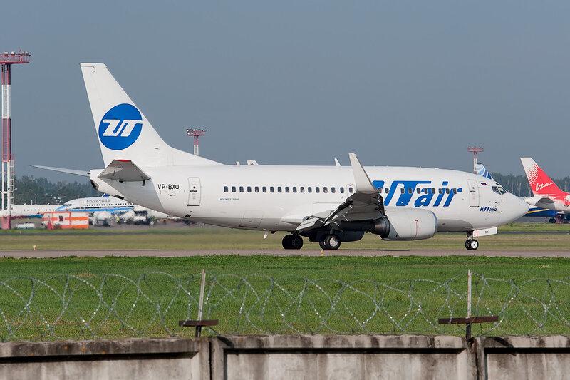 Boeing 737-524 (VP-BXQ) ЮТэйр DSC2658