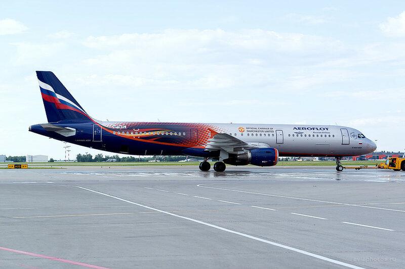 Airbus A321-211 (VP-BTL) Аэрофлот D809256a