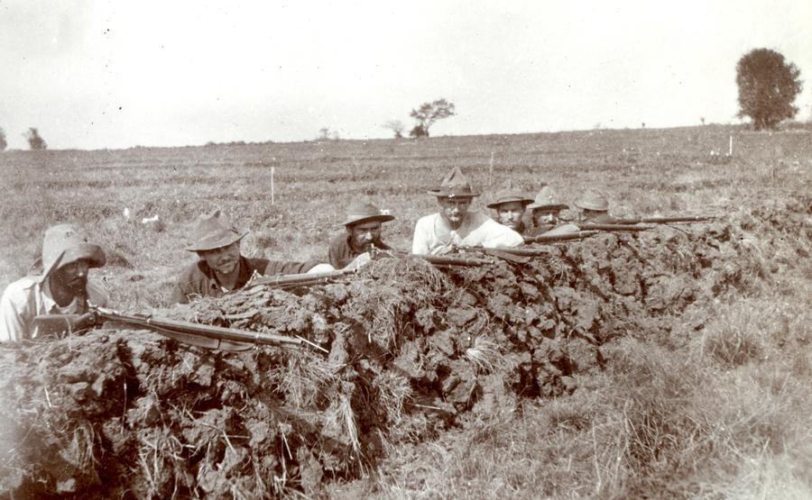 Inferior rifles, superior Soldiers