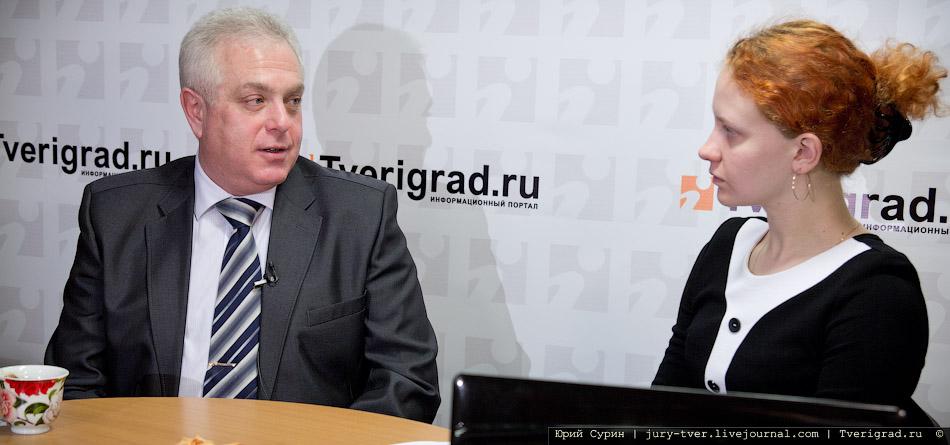 Военный комиссар Тверской области Владимир Сереф