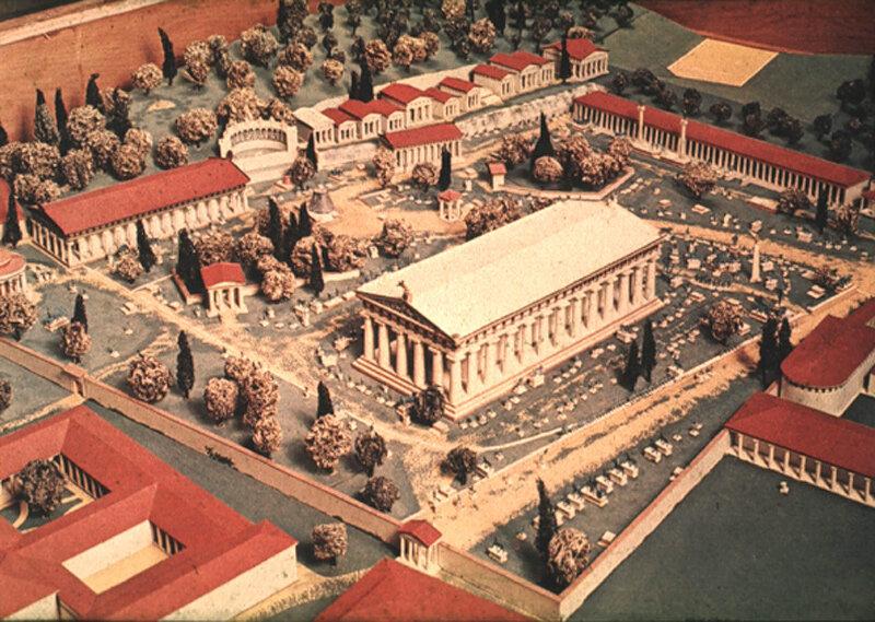 Древнегреческий город Олимпия