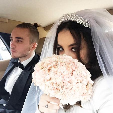 Виктория Дайнеко теперь в статусе жены