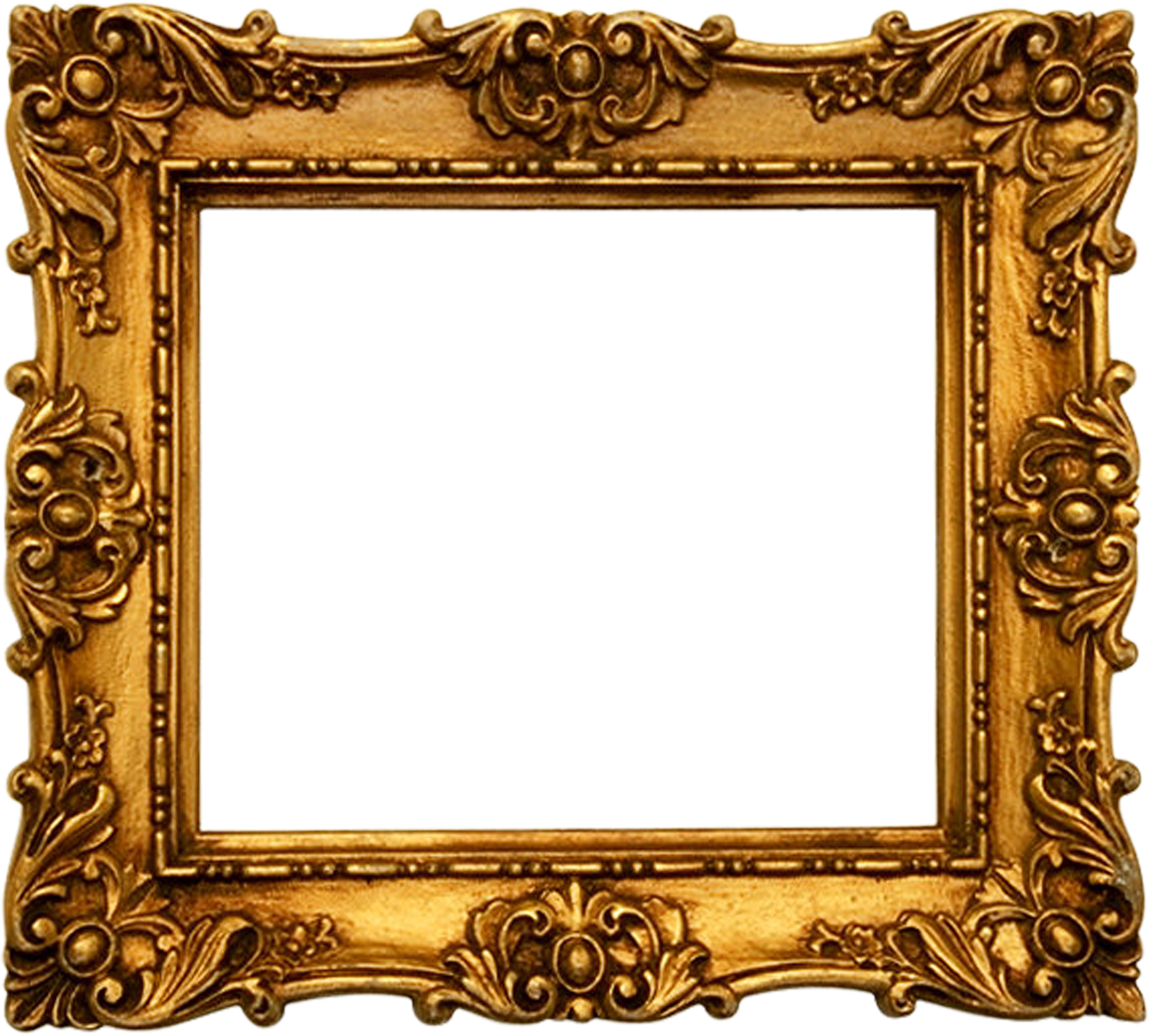 Transparent Picture Frame Old Fashioned