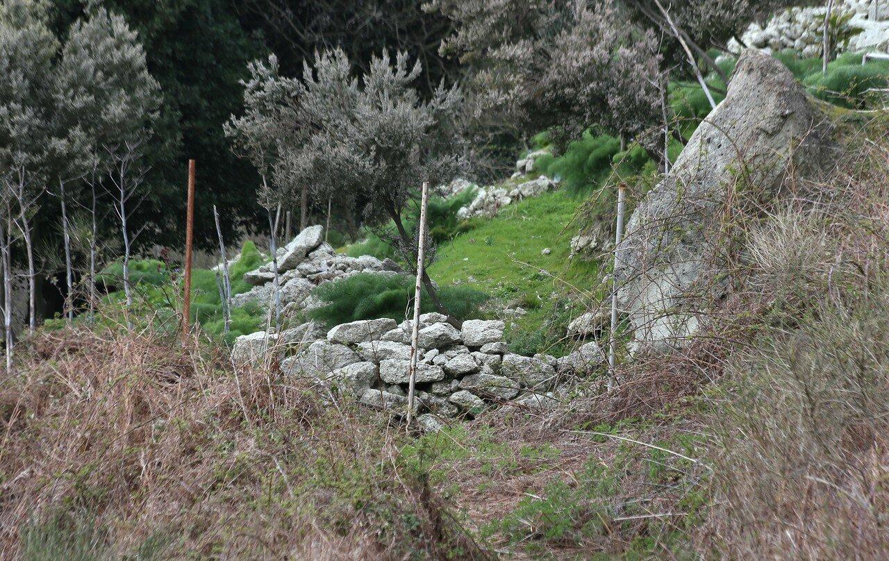Искья. Тропа на Монте Эпомео.