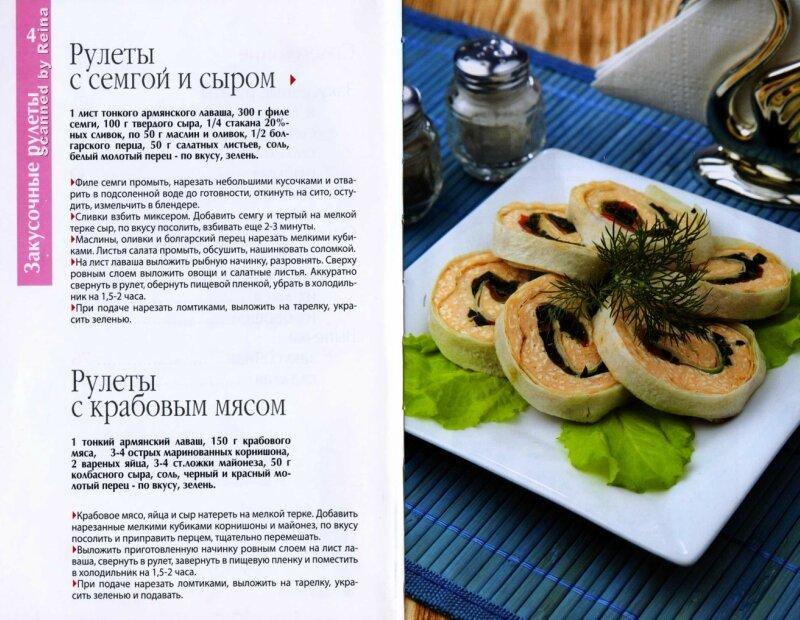 Рецепты разных рулетов с фото