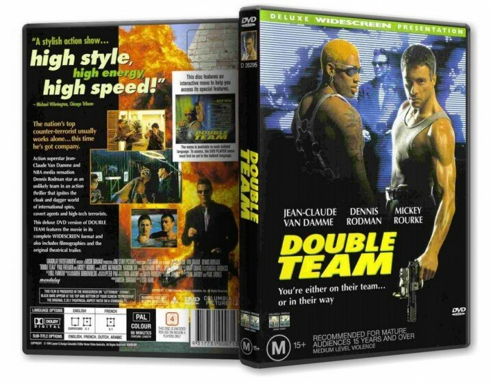 Колония - Double Team (1997) DVDRip-AVC