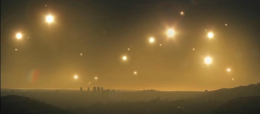 Как выглядело бы ночное небо, если бы Земля находилась рядом с созвездием Семь сестер