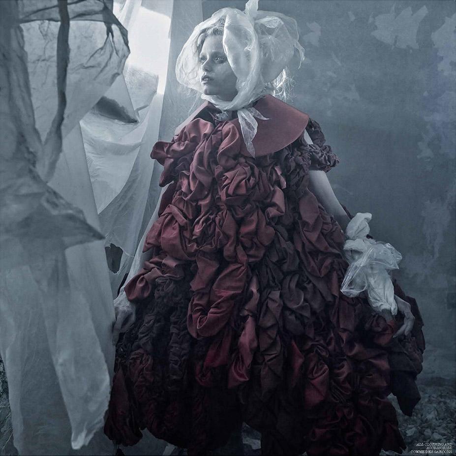 Эбби Ли Кершоу / Abbey Lee Kershaw by Fabien Baron in Interview Magazine march 2015 / Grey Gardens