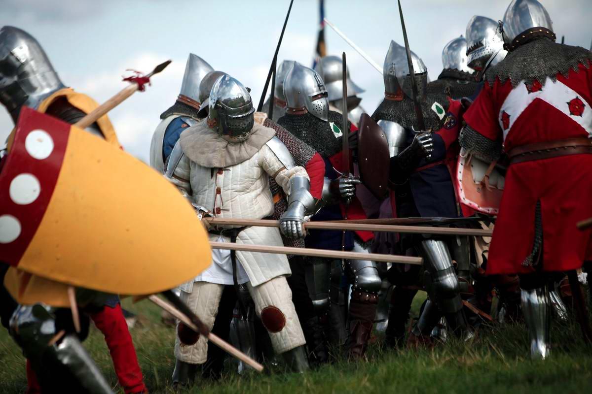 Эпизоды Столетней войны: Реконструкция битвы при Азенкуре в Северной Франции (20)