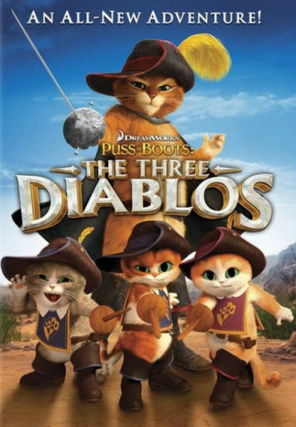 ��� � �������: ��� �������� / Puss in Boots: The Three Diablos (2011) BDRip 720p + HDRip