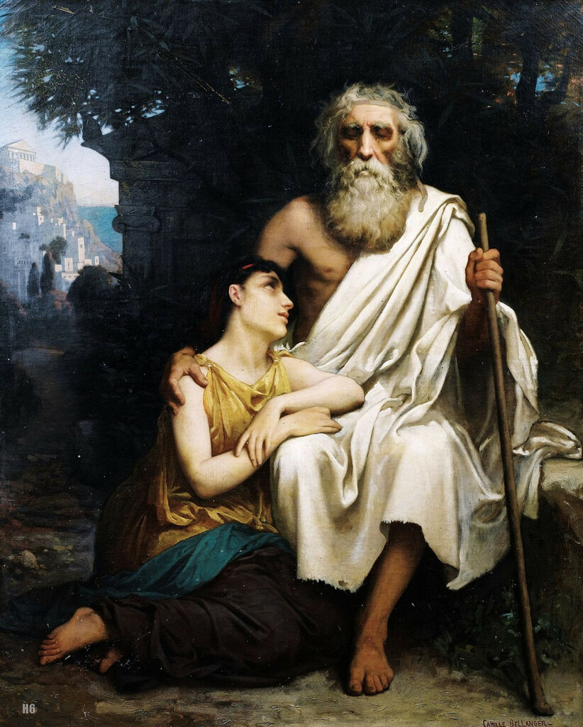 the underlying themes in the plays oedipus the king antigone and medea