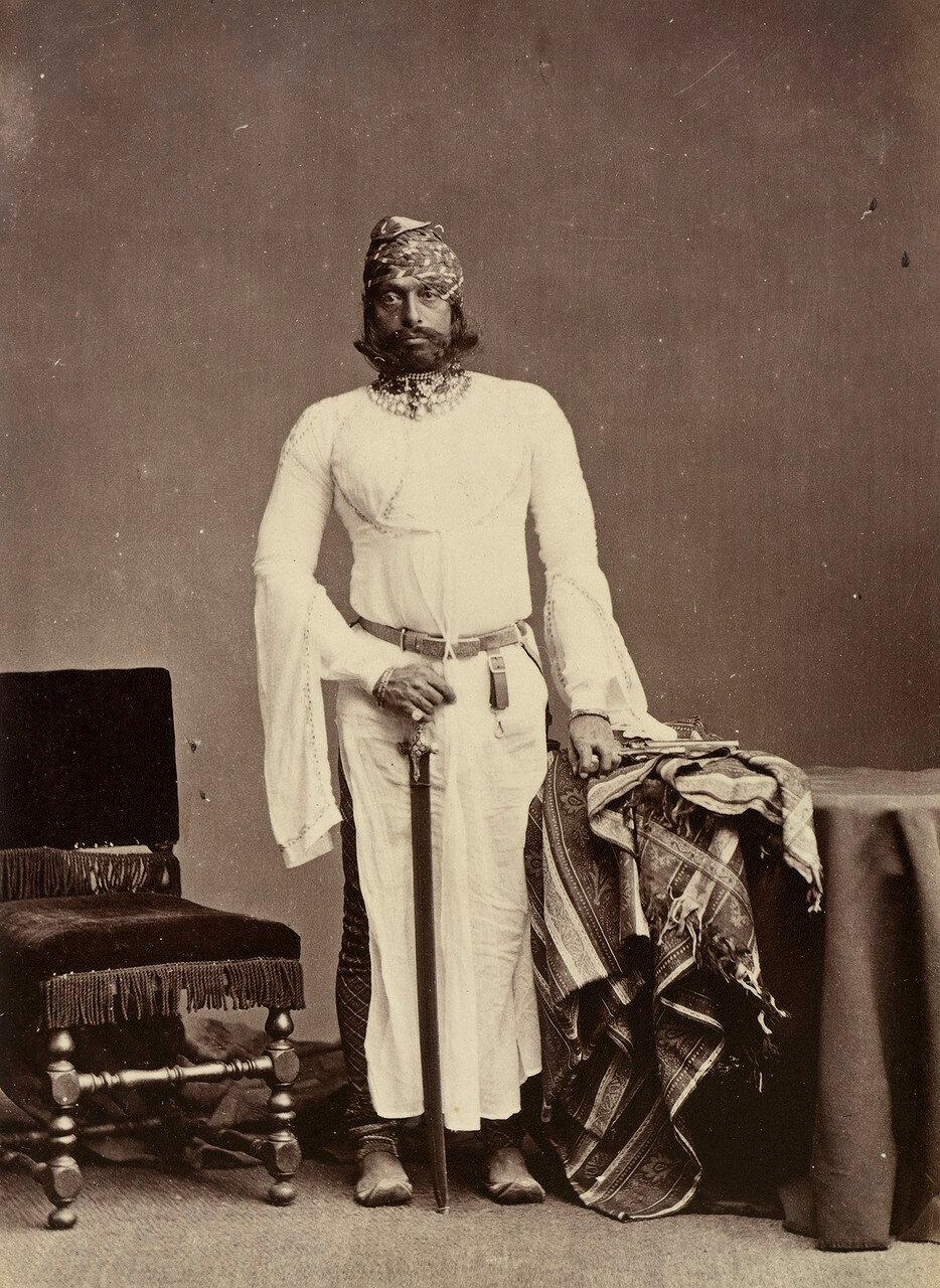 134. Джасвантх Сингх II, Махараджа Джодхпура (1838-1895)
